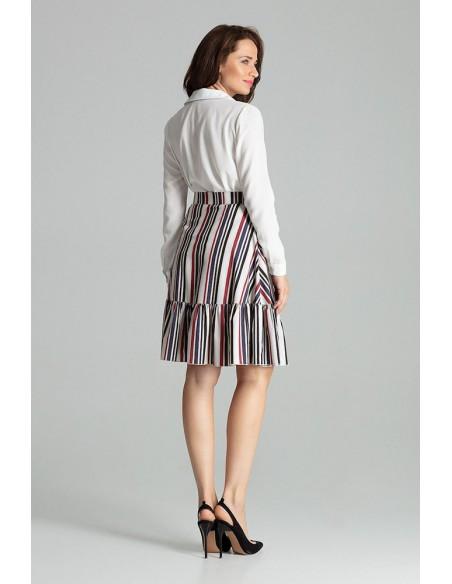 Rozkloszowana spódnica typu tulipan - wzór 110