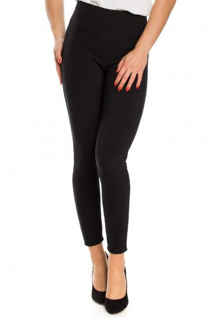 Dopasowane legginsy push up - czarne