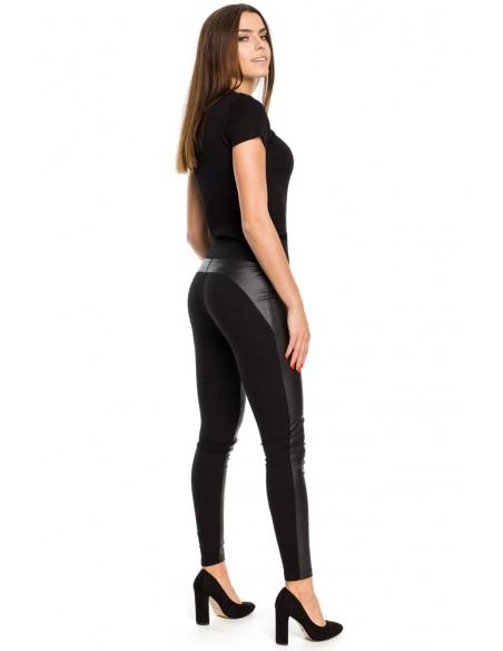 Nowoczesne gładkie spodnie damskie