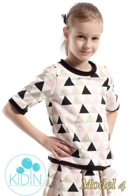 Dziecięca bluzka z nadrukiem - model 4