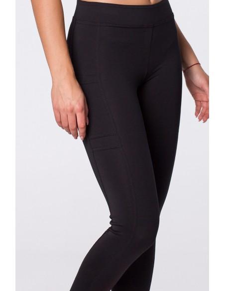 Eleganckie legginsy z przeszyciami