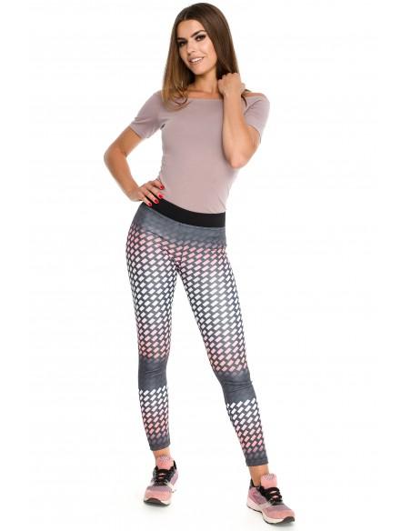 Modne elastyczne legginsy na fitness